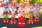 2020必备的美陈雕塑-鼠系列美陈雕塑!