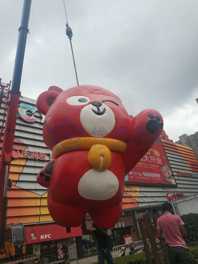 江西九江铜锣湾美陈改造