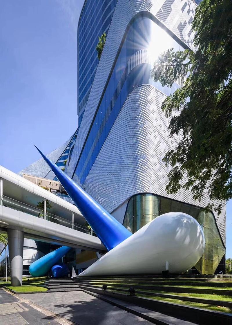 泰国尚泰使者购物中心美陈设计制作
