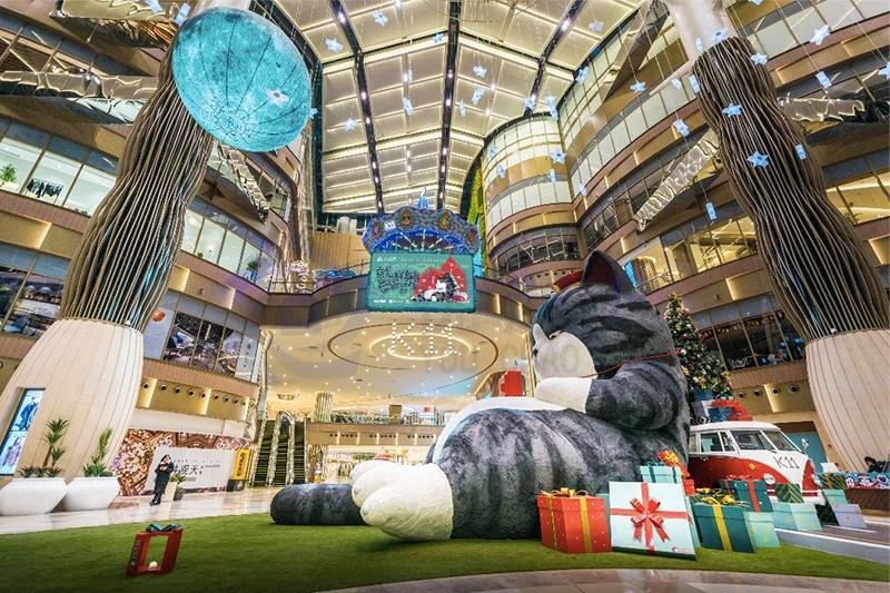 沈阳K11大型景观商业美陈设计制作
