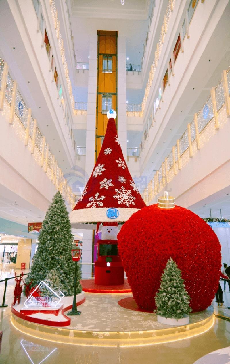 厦门SM广场圣诞美陈