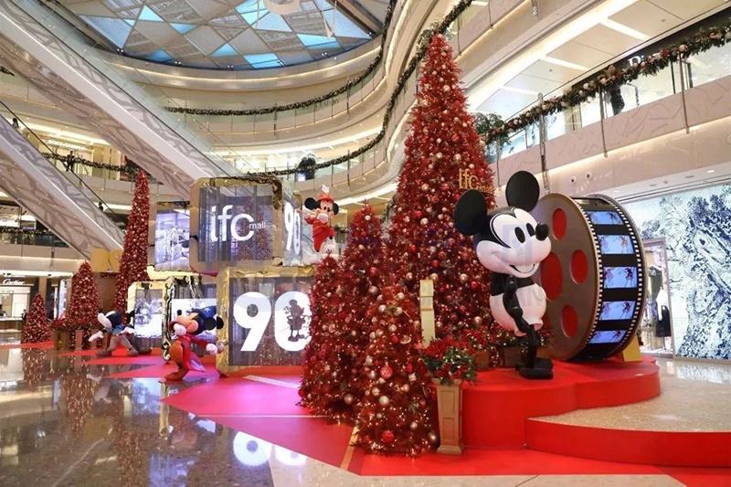 上海ifc商场圣诞美陈