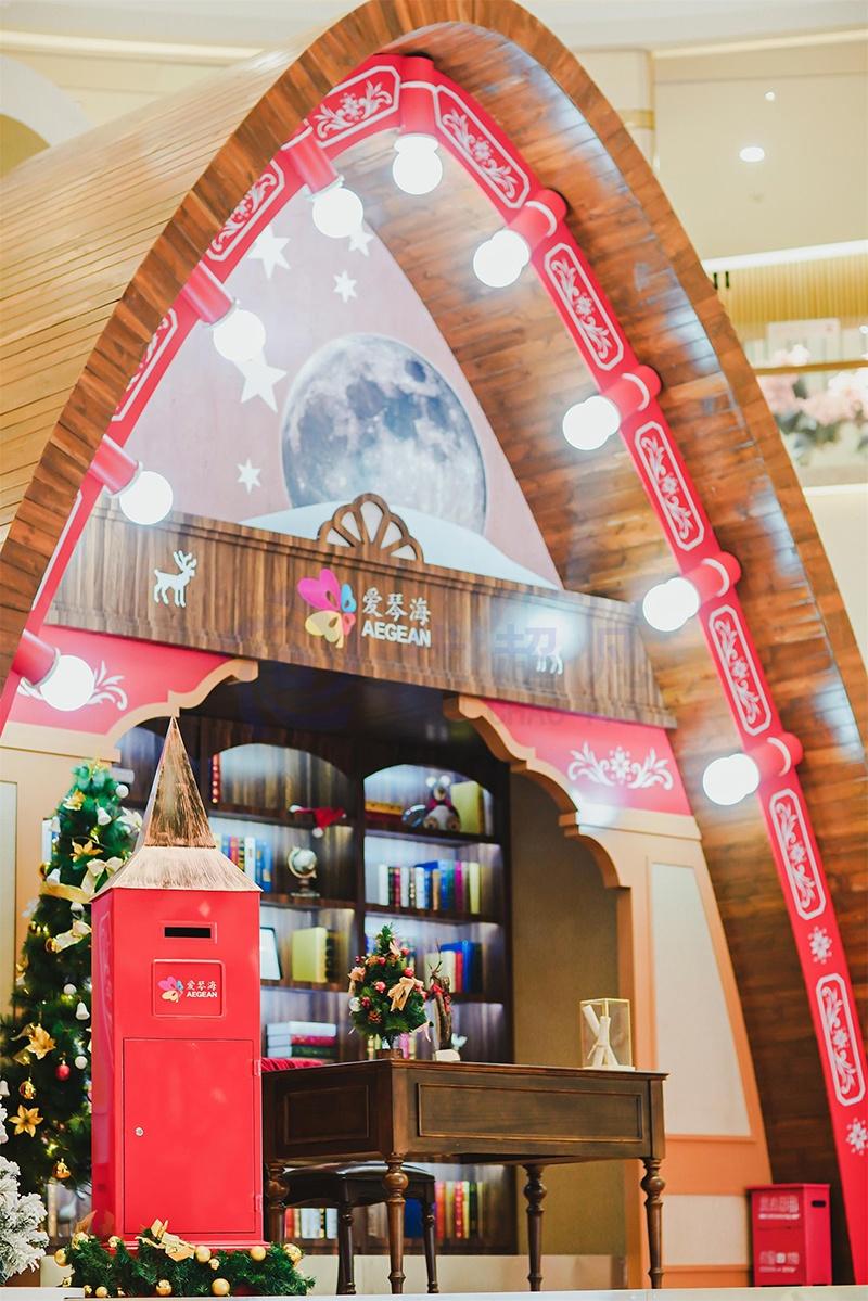 上海爱情海购物广场圣诞美陈