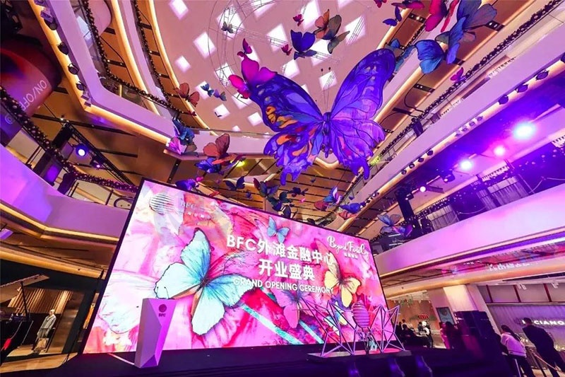 开业美陈-BFC外滩金融中心!