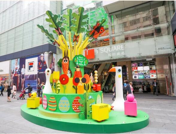 春节美陈-缔造暖暖的春日园林!