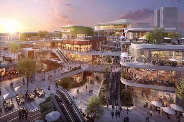 上海太古里商业美陈,2020年将开业了!
