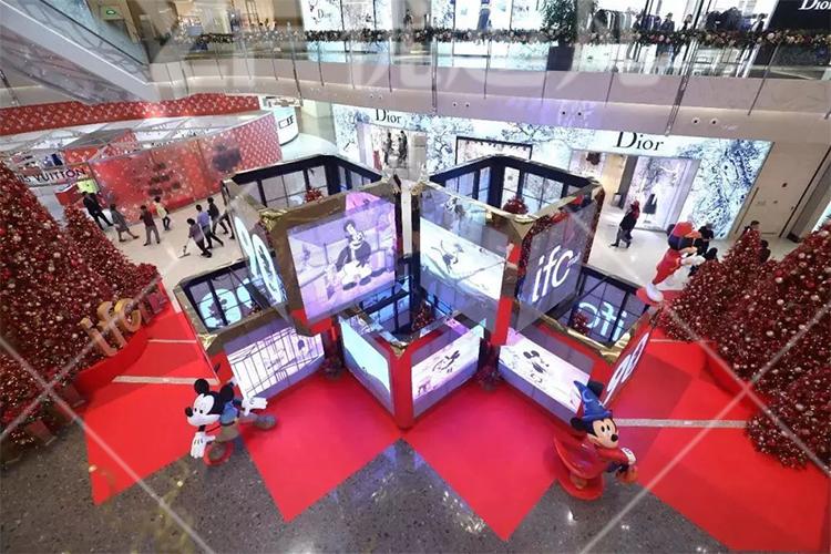 上海IFC商场美陈设计方案
